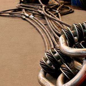 Laço de cabo de aço